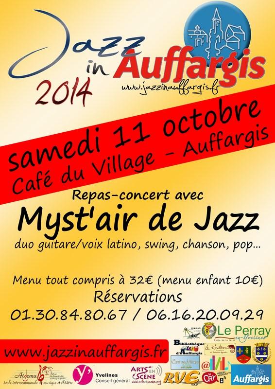 Myst'Air de Jazz au Café du Village le 11 octobre