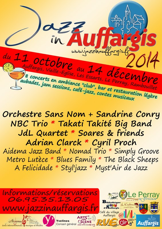 Jazz in Auffargis 2014