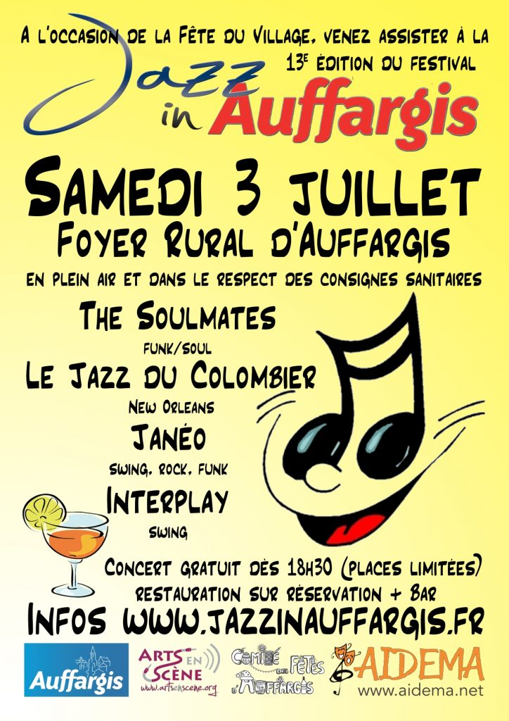 2021-07 Flyer Jazz in Auffargis