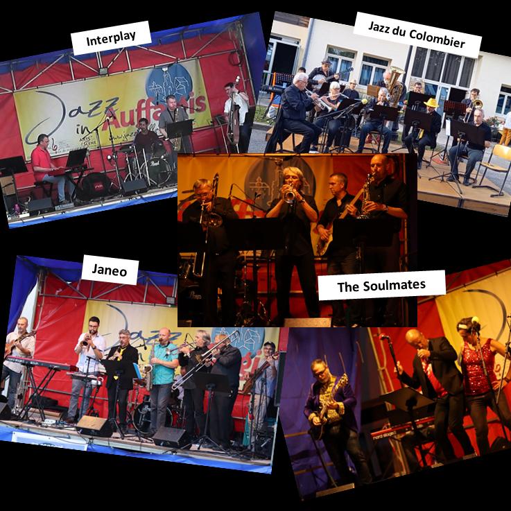 2021-07 Jazz in Auffargis - Les Groupes